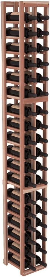 Wine Racks America Redwood low-pricing 100% quality warranty 2 Kit. Column Unstained Cellar