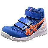 [アシックス] 安全靴/作業靴 ウィンジョブ CP203 JSAA A種先芯 耐滑ソール ディレクトワールブルー/ショッキングオレンジ 24.5
