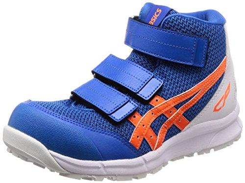 [アシックス] 安全靴/作業靴 ウィンジョブ CP203 JSAA A種先芯 耐滑ソール ディレクトワールブルー/ショッキングオレンジ 30.0