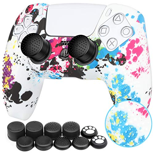 Benazcap Silicone Skin Accessories for PS5...