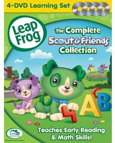 Leapfrog: The Complete Scout & Friends Collection [DVD]