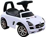 Jouets ? tirer Trotteur Porteur Baby Car ARTI Mercedes SLS AMG 332 White / Blanc Ride-On Activity Toy