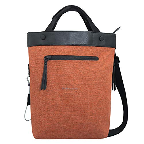Sherpani Geo, Anti Theft Everyday Crossbody Bag, Tote Bag and Shoulder Bag for Women, with RFID Protection (Copper)