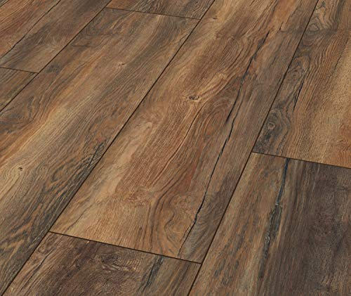 Laminat Exquisit Plus Harbour Oak 1 Paket = 2,694 qm = 8 Dielen = 15,95 Euro/qm