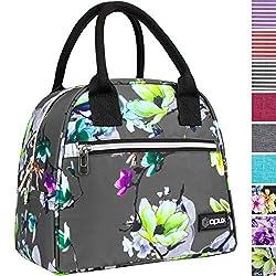 Image of OPUX Lunch Bag for Women |...: Bestviewsreviews