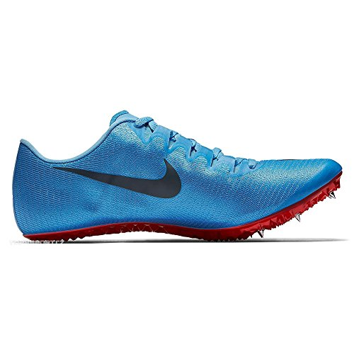 Nike Unisex-Erwachsene Zoom Superfly Elite Laufschuhe, Blau (Football Blue/Blue Fox/Bright Crimson 446), 45 1/3 EU