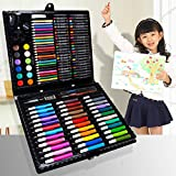 Volwco 150-Piece Markers Pen - Paint Pen,Fine Point Coloring Marker,Brush Highlighter Pen,Crayon,Color Pen