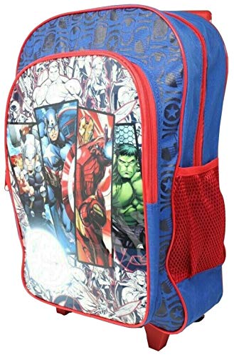 Avengers Kids Luggage Wheeled Trolley Backpack Suitcase Cabin Bag