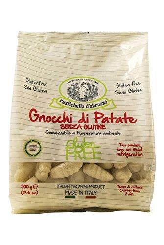 Patatas de sin gluten Gnocchi 500g. rustich Ella D 'abruzzo. 12Unidades.