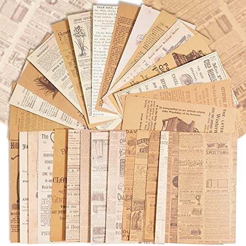180 Hojas Papel Scrapbooking Vintage Decoración Material de Scrapbooking...