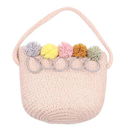 TININNA Borsa a tracolla per bambini con fiore boho, borsa a tracolla per bambini