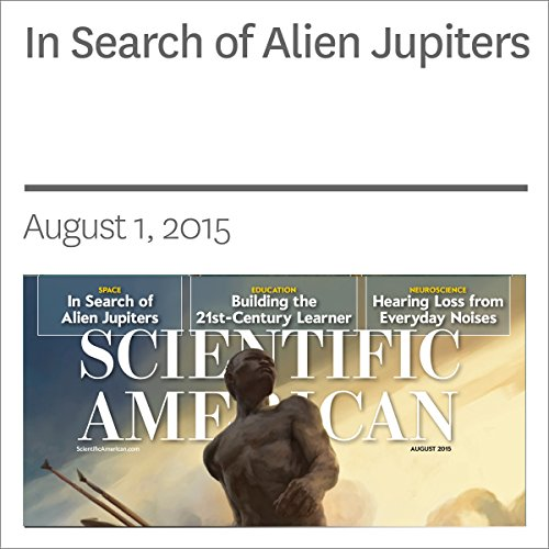 In Search of Alien Jupiters cover art