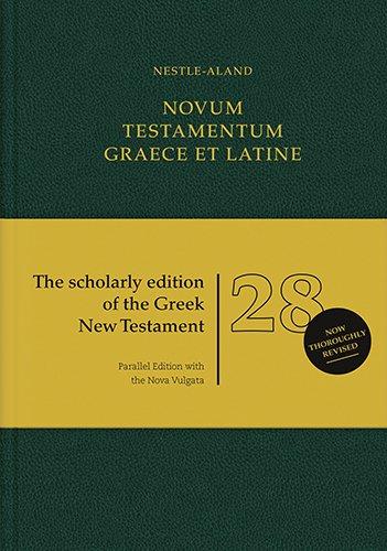 Novum Testamentum Graece Et Latine (Greek, Latin and German Edition)