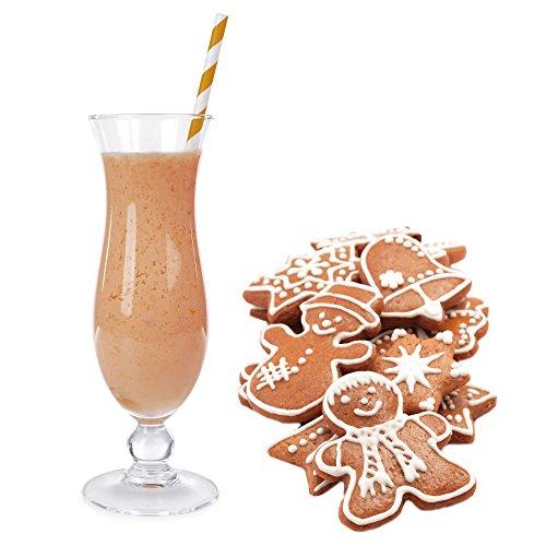 1 Kg Lebkuchen Geschmack Eisgetränkepulver für 9 Liter Smoothi Slush Sorbet Granita Eisgetränke Eis Cocktails