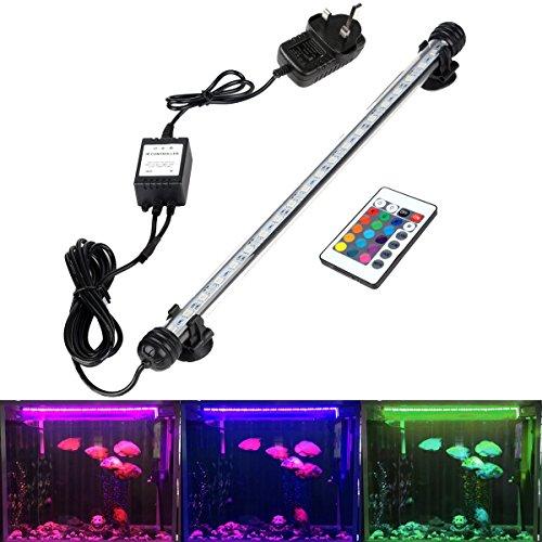 GreenSun LED Lighting 4.8W Submersible LED Aquarium Light,...