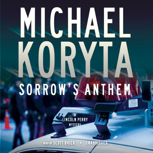 Sorrow's Anthem audiobook cover art