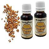 Propolis Tinktur 2 x 20ml Vorteilspack mit 20% Propolis, Propolis Extrakt Tinktur von der Familien-Imkerei Honigprinz (2 x 20ml)