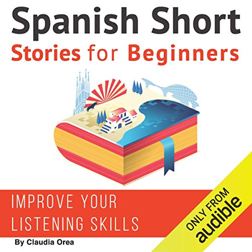 Spanish Short Stories for Beginners audiobook cover art