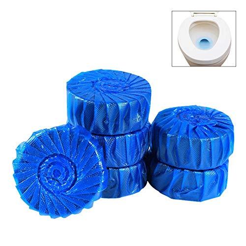 10PCS Azul WC Limpiador de suciedad Limpiador de baño Limpieza de baño Ambientador Desodorante Limpiador de inodoro Suministros de limpieza Detergente de limpieza del hogar Retrete fresco del punto