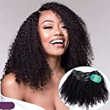 Kinky Curly Clip In Hair Extensions UDU Human Hair Extensions Clip In Hair 10pieces Triple Weft Full Head Clip In Hair Extensions (14inch)
