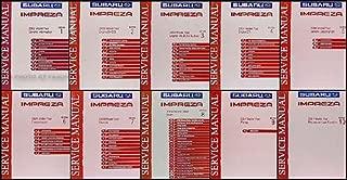 2004 Subaru Impreza & WRX Repair Shop Manual 10 Volume Set Original