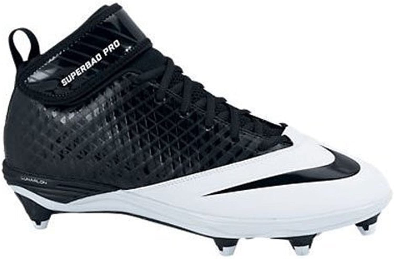 Nike Lunar Super Bad Pro D Men's Football Cleats Black