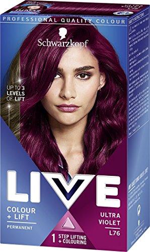 Schwarzkopf Live Colour + Lift Hair Dye, Permanent Colour with Vibrant Results...
