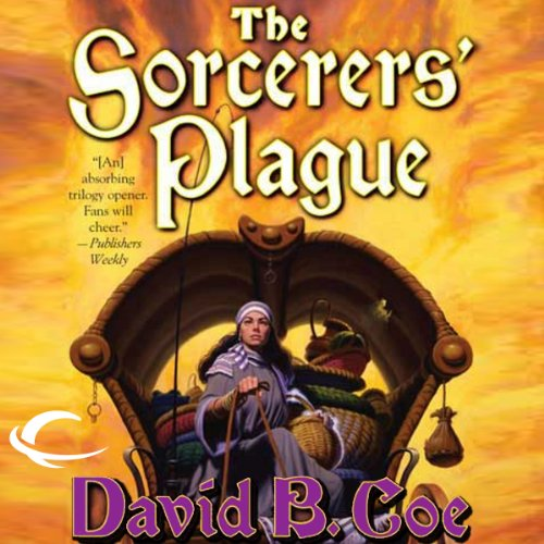 The Sorcerers' Plague audiobook cover art