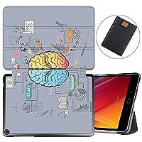 MAITTAO Verizon ASUS ZenPad Z10 ZT500KL Case/Zenpad 3S10 Z500KL, Slim Magentic Smart-Shell Stand Cover with Wake/Sleep for ASUS ZenPad Z10 9.7-Inch Tablet Sleeve Bag 2 in 1, Flowers & Leafs 11