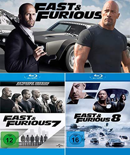 Fast & Furious 7 + 8 DuoSet [2-Blu-ray]