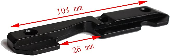 Tactical AK Side Dovetail Mount Plate Rail Steel Heavy Duty with Bolts Fit 47 & 74 Saiga etc Series Hunting