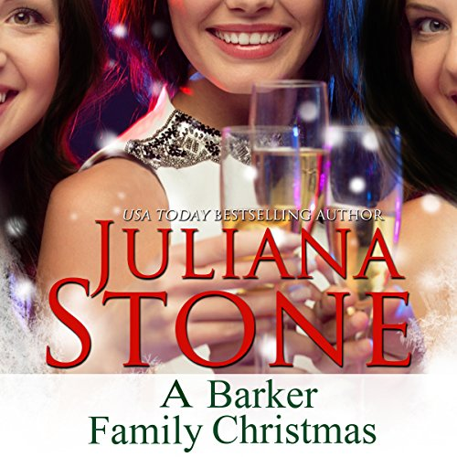 A Barker Family Christmas audiobook cover art
