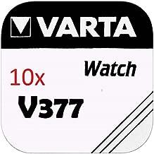 Varta Knopfzellen 377 SR626SW (10 Stück, V377)