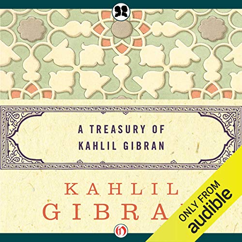 Treasury of Kahlil Gibran cover art