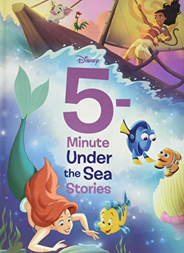 Compare Textbook Prices for 5-Minute Under the Sea Stories 5-Minute Stories Media tie-in Edition ISBN 9781368055529 by Disney Books,Disney Storybook Art Team