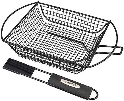 Prestige Bbq Vegetable & Shrimp Basket  Black Pr42114