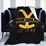 Yellowstone Unisex Microfiber Blanket Super Soft Cozy Blanket, Micro-Fleece Fuzzy Throw Blanket for Bed Couch Sofa Camping Travel 50'X40'