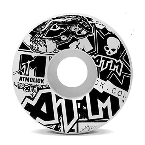 ATM Click Skateboard-Räder (Aufkleber, 54 mm)