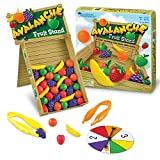 Learning Resources LER 5070 Avalanche Fruit Stand Colour & Fine Motor Skills Game, Multicoloured