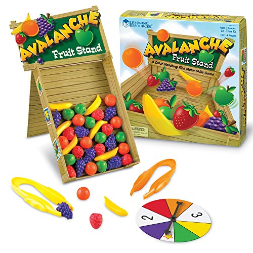 Learning Resources- Avalanche Fruit Stand, Multicolor (