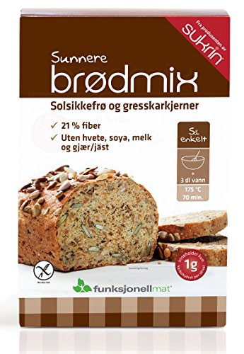 Sukrin Bread Mix - Sunflower/Pumpkin Seed (5-Pack)
