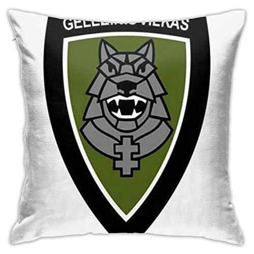 WH-CLA Pillowcase Gele? Inis Vilkas Fundas De Almohada Largas Dormitorio Personalizado Interior De Cojines De Coche Fundas De Cojines Fundas De Respaldo Suave Fundas De Almohada Fundas De