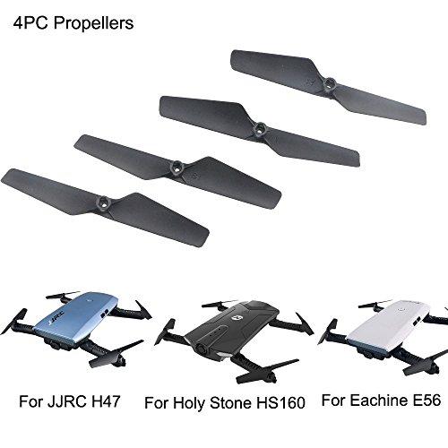 Dapei Propeller kompatible mit Eachine E56 JJRC H47 Holy Stone HS160 RC Drohne Quadcopter Propeller Ersatz Propellerblätter Zubehör für Flugzeuge – 4 Stück