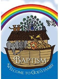 Noah's Ark Baptismal Card