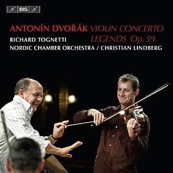 Dvorak: Violin Concerto - Legends, Op. 59