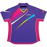 VICTAS(ヴィクタス) レディース 卓球 ゲームシャツ V-LS029 031457 パープル(0360) M