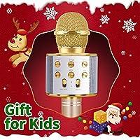 Microfono Senza Fili per Bambini Bluetooth, Regalo per Bambina da 4-11 Anni Microfono per Ragazza Ragazzo Cartone Animato iPhone Famiglia di Compleanno per Android Regalo Giocattolo #1