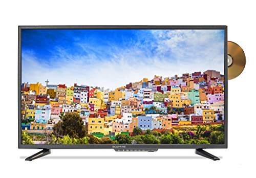 Sceptre E246BD-SMQK 24.0' 720p TV DVD Combination, True Black (2017)