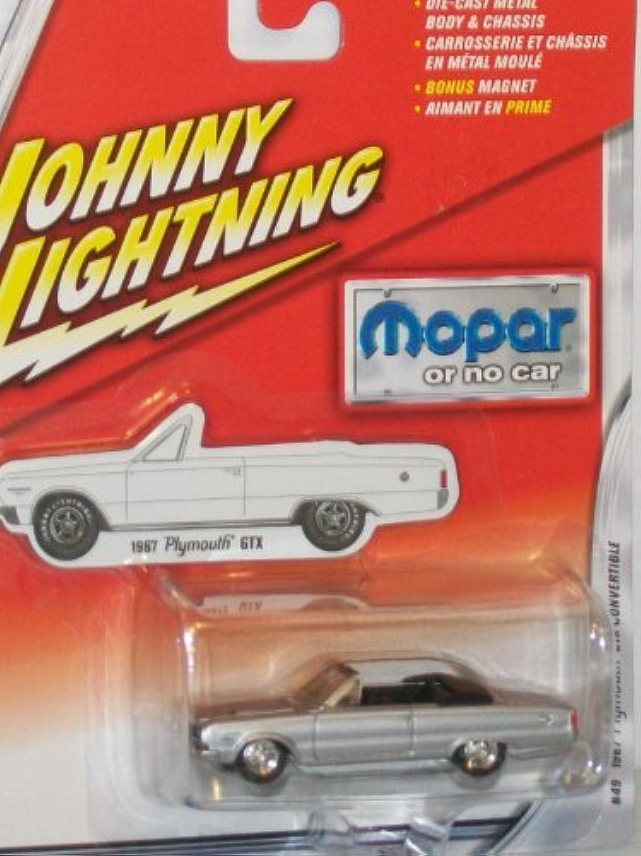 Johnny Lightning Mopar Or No Car 1967 Plymouth GTX Congreenible Silver  49 by Unknown