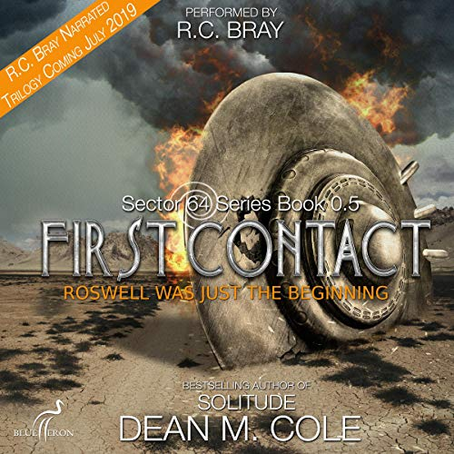 Sector 64: First Contact audiobook cover art